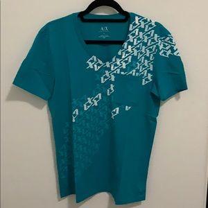 Armani Exchange V Neck T-shirt